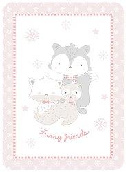 Бебешко одеяло - Funny Friends -