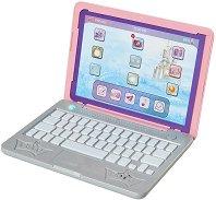 Детски лаптоп - Принцесите на Дисни - Играчка със звукови ефекти - творчески комплект