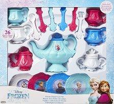 Сервиз за чай - Замръзналото кралство - Детски комплект за игра - играчка