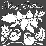 Шаблон - Merry Christmas - Размери 18 х 18 cm