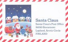 Писмо до Дядо Коледа + етикети за подарък -