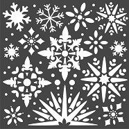 Шаблон - Снежинки - Размери 18 х 18 cm
