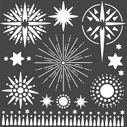 Шаблон - Звезди - Размери 18 х 18 cm