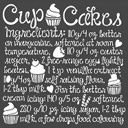 Шаблон - Рецепта за ванилови мъфини