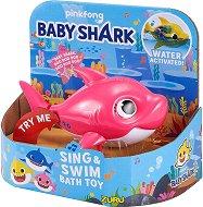 """Плуваща мама акула - Детска играчка със звукови ефекти от серията """"Baby Shark"""" -"""