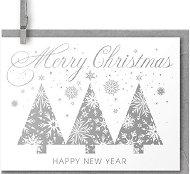 Поздравителна картичка - Merry Christmas and Happy New Year - продукт