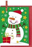Поздравителна картичка - Снежен човек - продукт