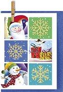 Поздравителна картичка - Подаръци от Дядо Коледа - продукт