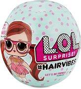Топка с кукла изненада - L.O.L.#Hairvibes -