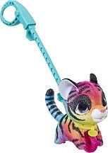 Домашен любимец за разходка - Шарено тигърче - играчка