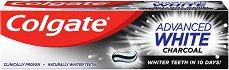Colgate Advanced White Charcoal - Избелваща паста за зъби с активен въглен - паста за зъби