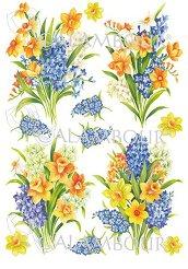 Декупажна хартия - Букет цветя 59