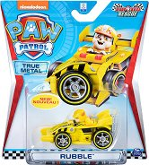 """Ръбъл в спортен автомобил - Детска метална играчка от серията """"Пес патрул"""" - играчка"""