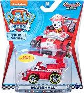 """Маршъл в спортен автомобил - Детска метална играчка от серията """"Пес патрул"""" - играчка"""