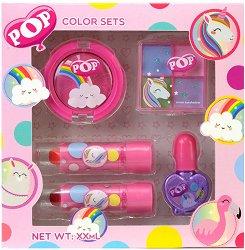 Детски комплект с гримове - POP Girls Color Set -