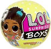 Топка с кукла изненада - L.O.L.Boys -