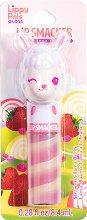 Lip Smacker Lippy Pals Gloss - Llama - Гланц за устни с аромат на ягода - маска