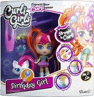 Кукла и фигурка с накъдрящи се коси - Birthday GIrl - играчка