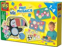 """Моята първа филц мозайка - Детски образователен комплект от серията """"My First"""" -"""