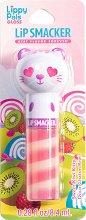 Lip Smacker Lippy Pals Gloss - Kitty - Гланц за устни с аромат на киви - спирала