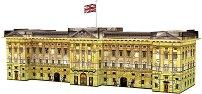 Бъкингамския дворец - 3D пъзел със светлинни ефекти - пъзел