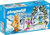 """Време е за ски - Фигура с аксесоари от серията """"Playmobil: Family Fun"""" -"""