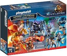 Коледен календар - Вълшебна битка - Детски конструктор за игра - играчка