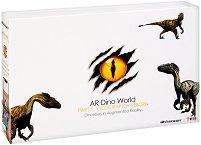 AR Dino World - Велосираптор - Образователен комплект с приложение за виртуална реалност -