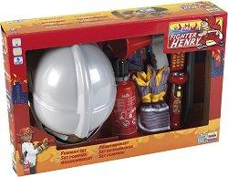 """Стани пожарникар - Детски комплект с аксесоари от серията """"Fire Fighter Henry"""" -"""