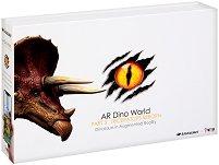 AR Dino World - Трицератопс - Образователен комплект с приложение за виртуална реалност -