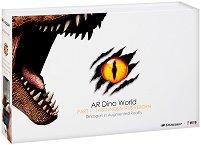 AR Dino World - Тиранозавър Рекс - Образователен комплект с приложение за виртуална реалност -