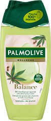 Palmolive Natural Wellness Balancing Shower Gel - Душ гел с масло от коноп и лайка - масло