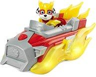 """Маршъл и супер автомобил - Детски комплект за игра със светлинни и звукови ефекти от серията """"Пес патрул"""" - продукт"""