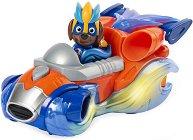 """Зума и супер автомобил - Детски комплект за игра със светлинни и звукови ефекти от серията """"Пес патрул"""" -"""
