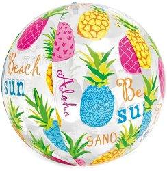 Надуваема топка - Ананаси - С диаметър 51 cm -