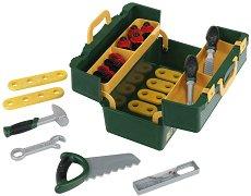 """Куфарче с инструменти - Bosch - Детски комплект за игра с аксесоари от серията """"Bosch-mini"""" - играчка"""