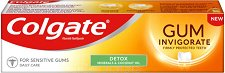 Colgate Gum Invigorate Detox Toothpaste - Паста за зъби и здрави венци с минерали и кокосово масло - паста за зъби