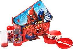 Кутия за съхранение- Спайдърмен - В комплект с аксесоари - играчка