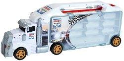 """Автовоз писта - Детски комплект с аксесоари за съхранение на колички от серията """"Bosch Service"""" - играчка"""