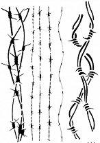 Шаблон - Бодлива тел