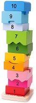 Кула от блокчета -
