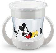 """Преходна чаша с дръжки 360° - Mini Magic Cup 160 ml - За бебета над 6 месеца от серията """"Мики Маус"""" - продукт"""