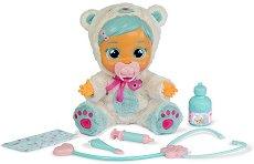 Cry Babies - Болната Кристал - Плачеща кукла бебе с аксесоари - кукла