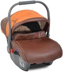 Бебешко кошче за кола - Sofie: Leather - За бебета от 0 месеца до 13 kg - столче за кола