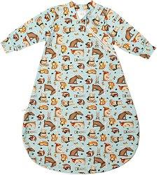 Бебешко спално чувалче - С дължина 62 cm за бебета от 0+ до 4 месеца -