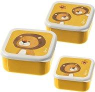 Кутии за хранене - Лъв - Комплект от 3 броя -