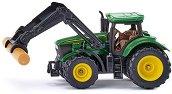Трактор с щипки - John Deere 6215R - играчка