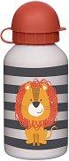 Детска бутилка - Лъв 350 ml - детска бутилка