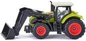 Трактор с предна лопата - Claas Axion - Детска метална играчка -