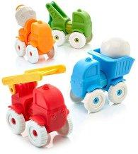 Моите първи превозни средства - Детски комплект за игра -